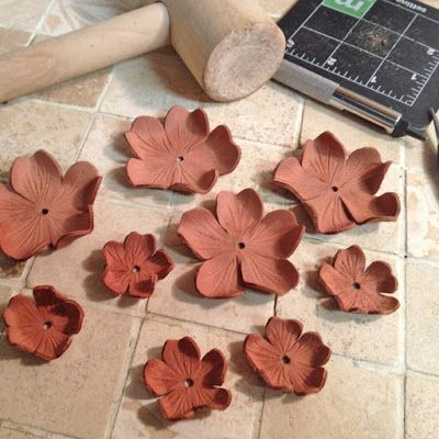 How I Make My Leather Flowers