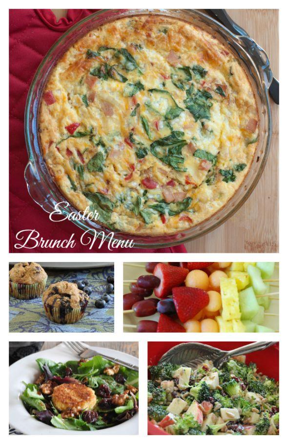 Easter Brunch Menu + links to recipes! www.nutritiouseats.com