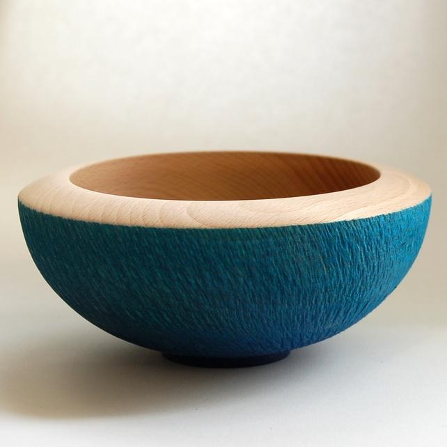 Beech Decorative bowl 166 mm x 75 mm