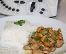 Chicken and cashews Thai style