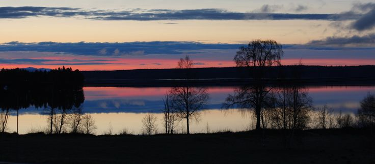 Sunset in Sweden Sverige Jämtland