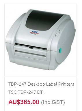 POS Label Printers at discounted rate from QuickPOS Australia