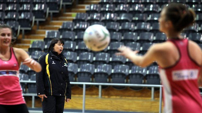 NATIONAL netball coach Lisa Alexander was back in familiar territory at Thunderbirds training last night.    Alexander was an assistant at the franchise for the first four years of the ANZ Championship before taking on the Diamonds role after last year's world championships.