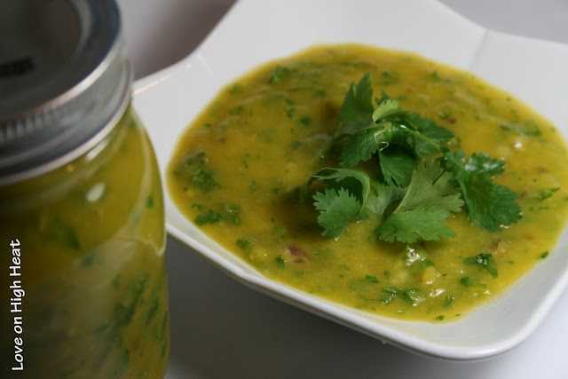 ... cucumber salads cold thai style mango coconut soup with mango relish