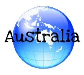 Free geography printables for Australia