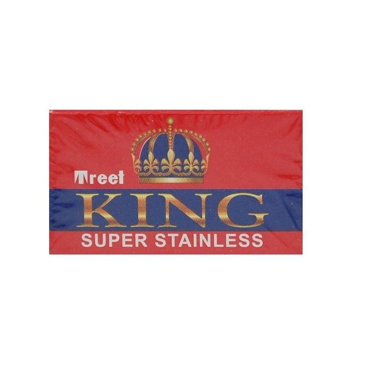 200 Treet King Super Stainless Double-Edge Safety Razor Blades