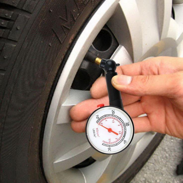 New Meter Tire Pressure Gauge  Auto Car Bike Motor Tyre Air Pressure Gauge Meter Vehicle Tester monitoring system hot sale