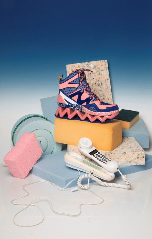 The colors and objects in this are super strange 1980's-1990's. The artist expels a soft pastel color to chunky and odd objects. This kind of looks like some of the still lifes I saw on our discussion last week.    Dom Sebastian - Void in Colour