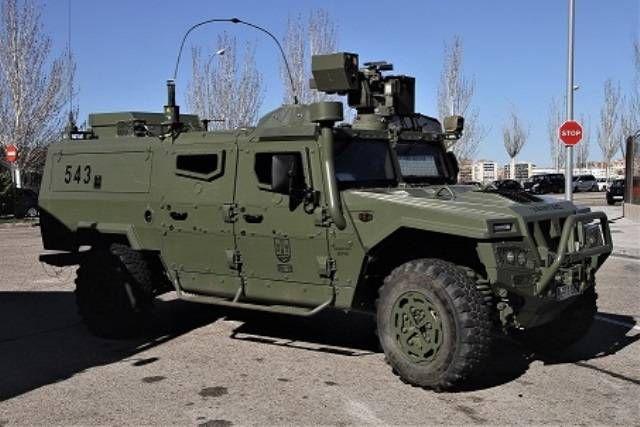 La Infantería de Marina española dotará a sus 4x4 con estaciones de armas operadas en remoto-noticia defensa.com