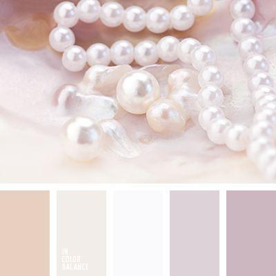 color beige suave, color lila suave, color perla, colores de la perla, colores de las sartas de perla, matices del marrón pastel, paleta de colores para diseñadores, paletas de diseño, paletas para un diseñador, tonos beige, tonos lilas, tonos marrones.
