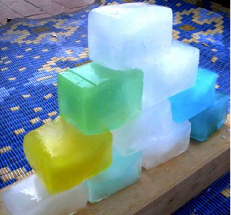 Juegos de construcción con hielo - http://www.manualidadeson.com/juegos-de-construccion-con-hielo.html