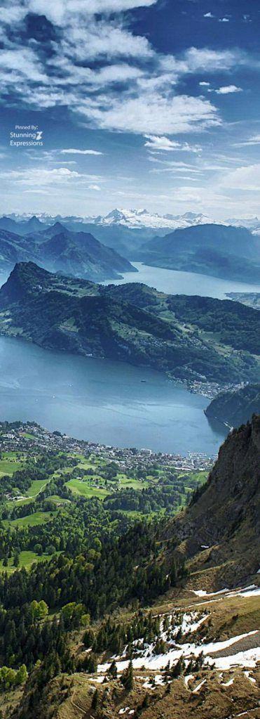 VIDA Statement Bag - Luzern lake by VIDA nNDhJcUoCV