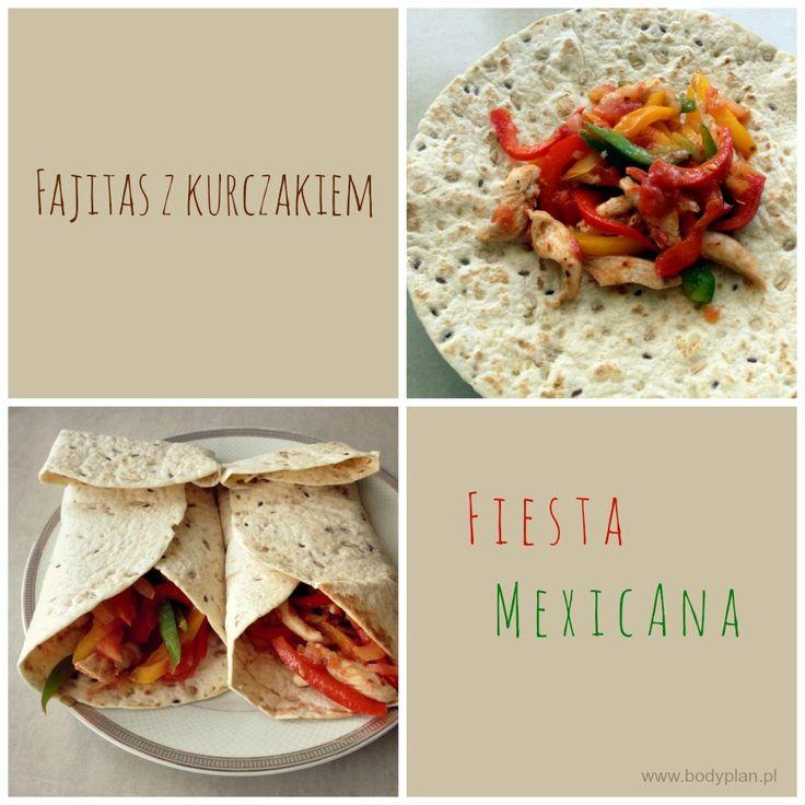 Fajitas - czyli meksykańska tortilla z kurczakiem