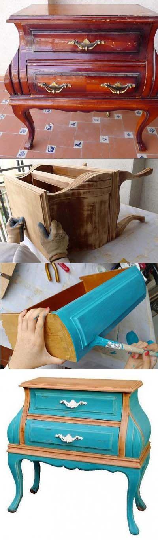 Muebles reciclados Las Tres Sillas