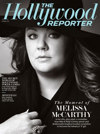 """Let's create a new fairy tale where the girl isn't just.. brushing her hair and waiting for the perfect kiss."" Melissa McCarthy on raising a strong independent daughter."