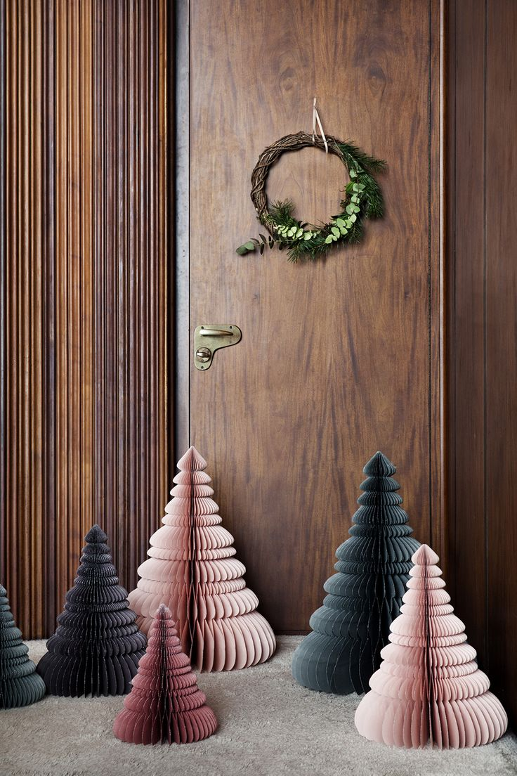 The Nordic way of life - Broste Paper Christmas trees