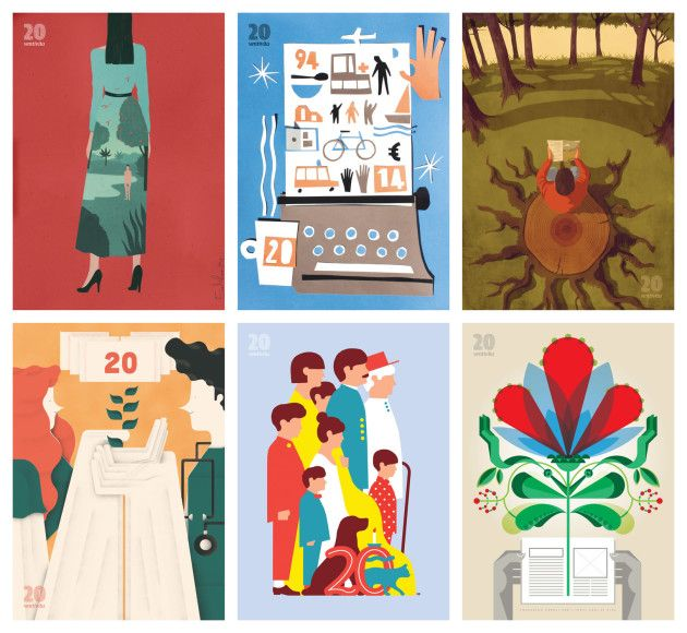 Frizzifrizzi » Riprogettare un magazine circondandosi di illustratori