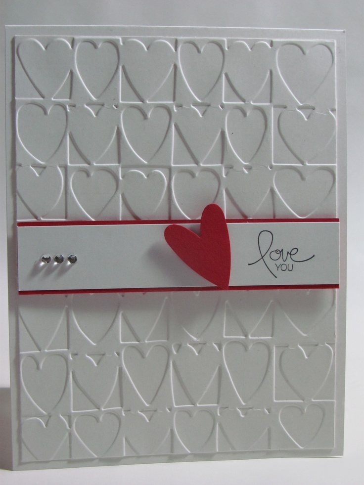 San Valentin card  Stampin Up - Paperland Creations