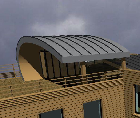 Les 31 meilleures images propos de toiture courbe sur Architecture courbe