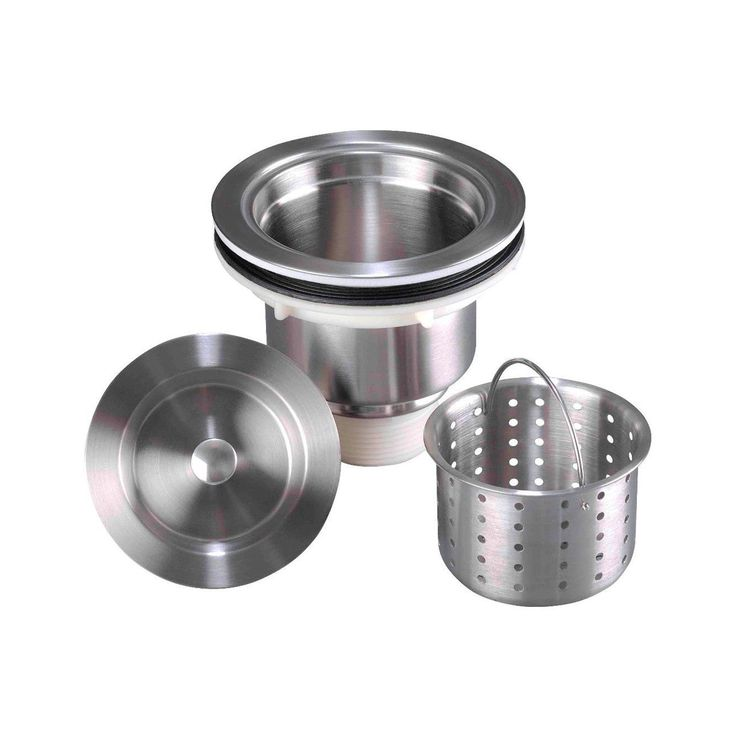 Apogee Stainless Steel Silver Basket Strainer Stainless