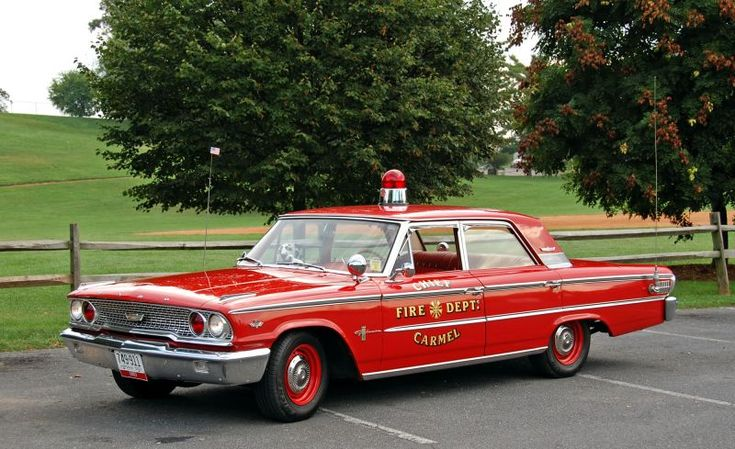1963 Ford Galaxy 500 Fire Chief car....