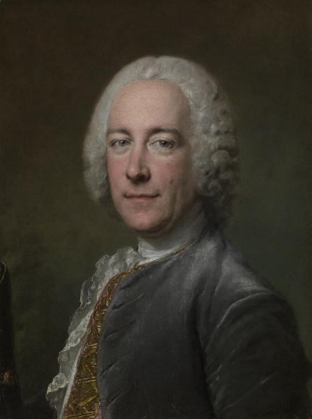 Portrait of a gentleman (c. 1747) Louis TOCQUÉ