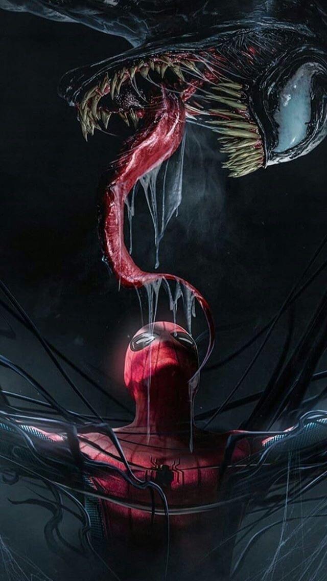 Spider Man And Venom Wallpaper Venom Pinterest Venom