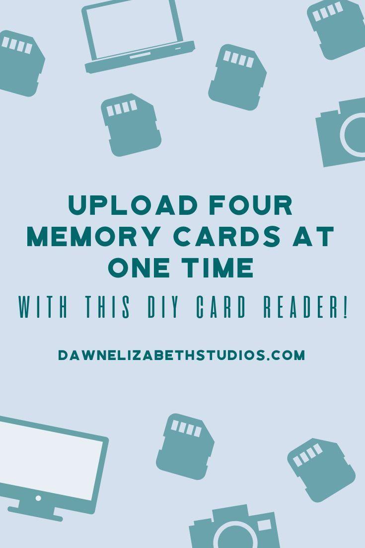 Diy Multi Card Reader For Photographers Dawn Elizabeth Studios Photography Education Card Reader Photography Tips