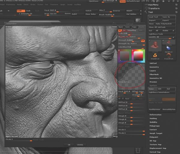 How do I create skin details in ZBrush?