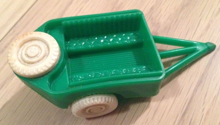 Thomas Toy By Acme, Plastic Green Toy Trailer, Vintage Dollhouse Toy | eBay