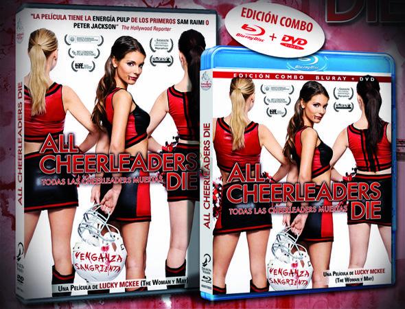 A partir del 11 de febrero podremos adquirir en Bluray y DVD una peculiar película terroríficamente divertida. 'All Cheerleaders Die' es una obra dirigida por Lucky McKee y Chris Sivertson, los mismos creadores de 'Lucy' y 'The Woman'.