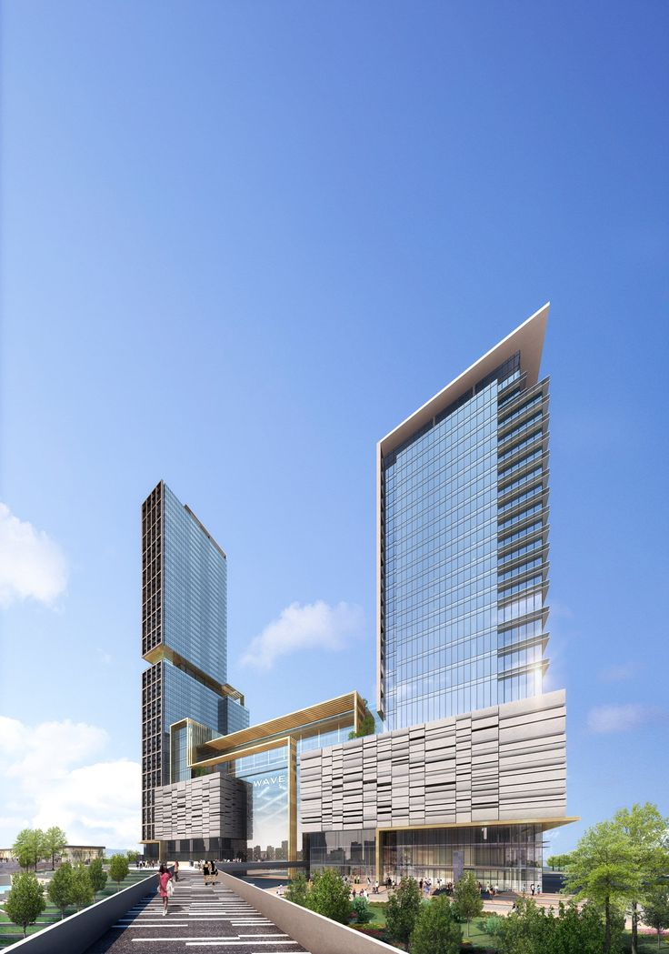 Complementing BBG-BBGM's simultaneous development on an adjacent property, this project deals with a complex program of two hotels with large ballroom compon...