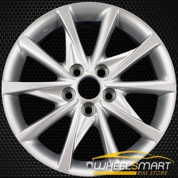 17 Toyota Prius Oem Wheel 2012 2018 Silver Alloy Stock Rim 69601