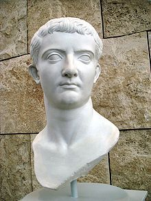Tiberius (pron.: /taɪˈbɪəriəs/; Latin: Tiberius Julius Caesar Augustus;[2] 16 November 42 BC – 16 March 37 AD) was Roman Emperor from 14 AD to 37 AD. Tiberius was by birth a Claudian, son of Tiberius Claudius Nero and Livia Drusilla. His mother divorced Nero and married Augustus in 39 BC, making him a step-son of Octavian.