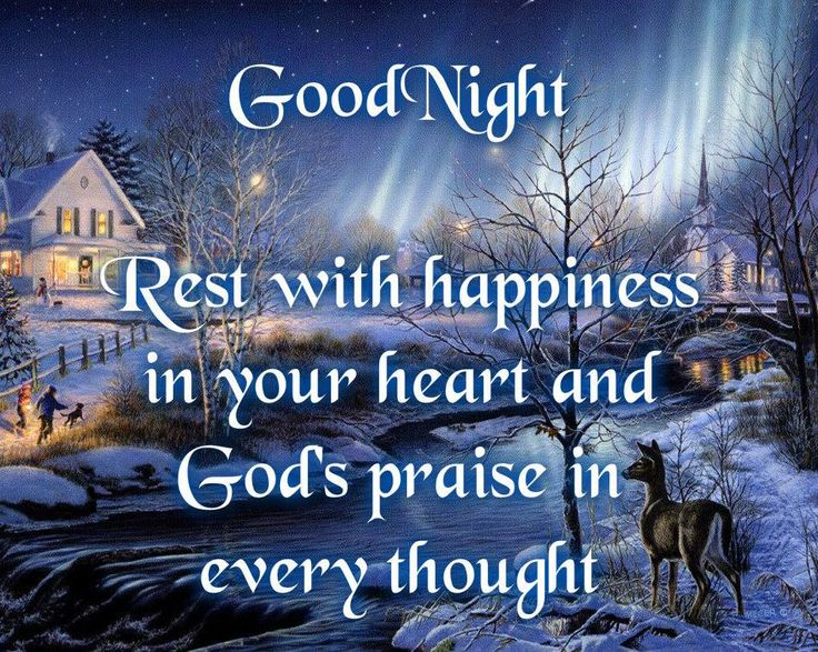 And be with you all good night nighttime blessings good night