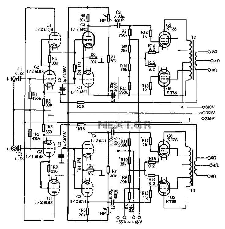 A C C F D D C B Signal Processing Vacuum Tube