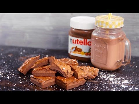 glutenfreier Nutella Kuchen aus nur 2 Zutaten - Klein aber Lecker