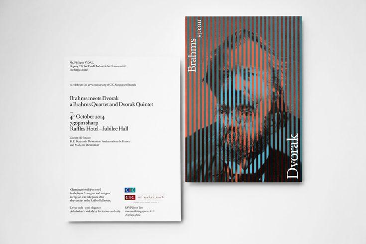 Brahms meets Dvorak — Matteo Colella — Typography & Art Direction