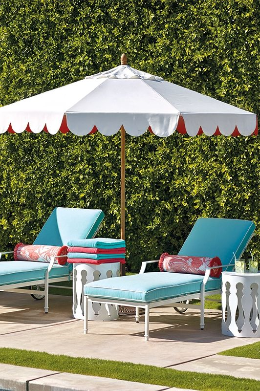 Palm Springs Dream: Legendary cool meets dazzling style. Wood Patio  FurniturePool ... - 216 Best Outdoor Furniture Images On Pinterest Balconies, Decks