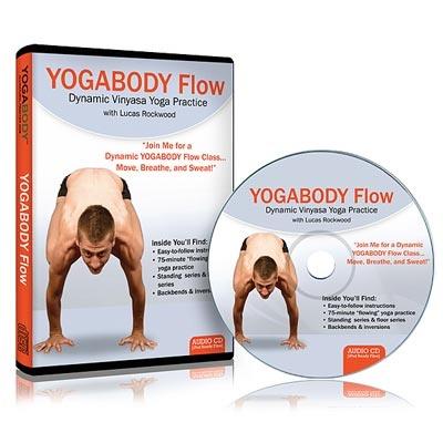 Flow Yoga (CD) – Dynamic Vinyasa Yoga Practice with Lucas Rockwood.