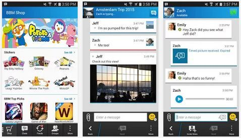 BBM 2 8 0 21 APK für Android – BlackBerry Messenger