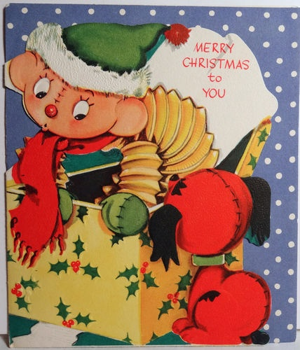 99 best Old Fashioned Christmas: Cards - Toys images on Pinterest ...