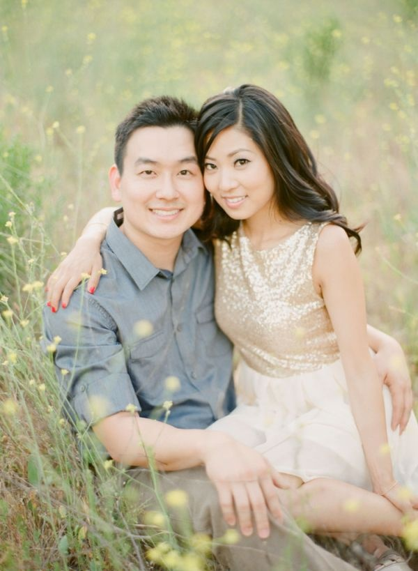 Fall Southern California engagement session