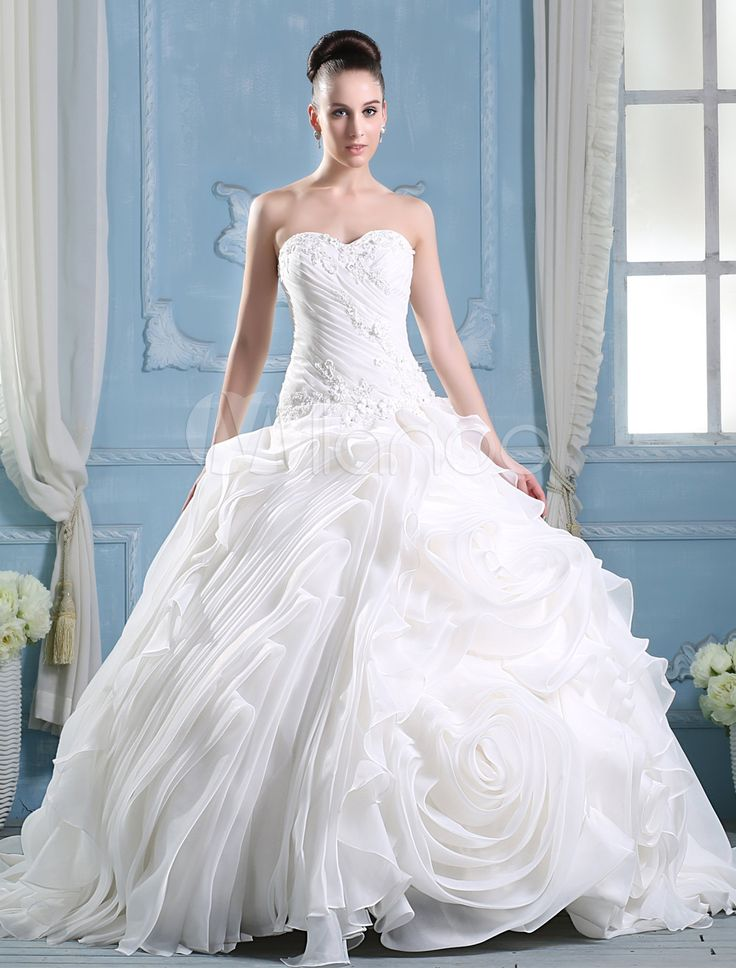 11 best Wedding dresses Princess Style images on Pinterest | Wedding ...