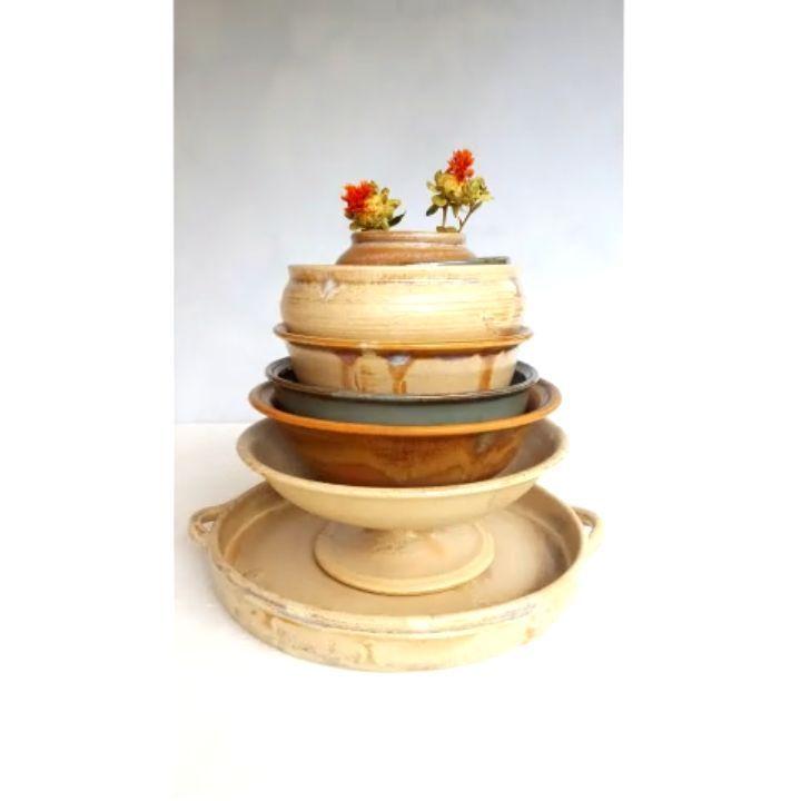 """21 kedvelés, 1 hozzászólás – Ceramiss Ceramic (@ceramiss) Instagram-hozzászólása: """"Halmozzuk az élvezeteket. Nem, nem borult le egyszer sem. 🤥🤗 #bowl #ceramicbowl #tableware…"""""""