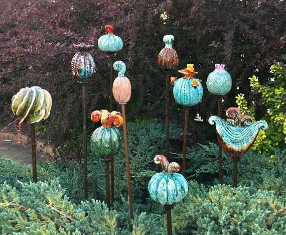 Garden Decor Yard Decor Garden Stake Garden Sculpture Garden