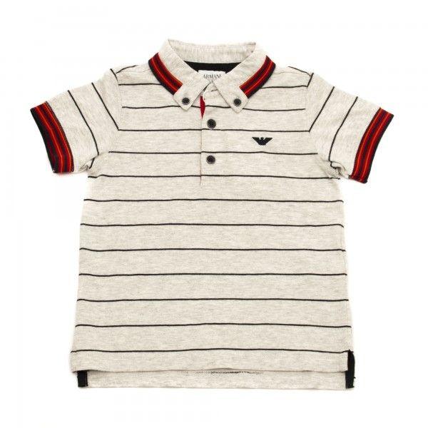 Armani Junior Polo righe
