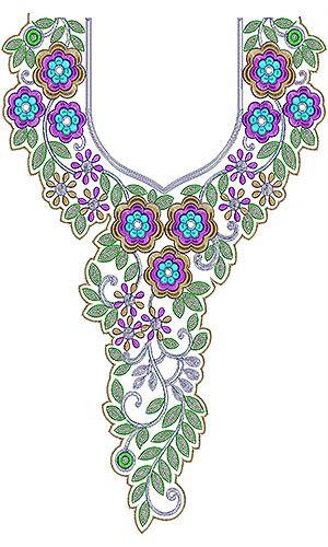 Latest Fashion Trend Cording Neck Design