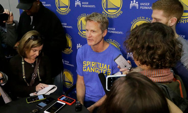 """Column: Steve Kerr's earned the right to decide his own coaching schedule = There's an adage that goes """"If you want to make God laugh, tell Him your plans."""" It's an expression that Golden State Warriors coach Steve Kerr can ruefully relate to, I'm sure. By all rights, this should be among the happiest times of Kerr's life. He is at the pinnacle of his profession, finding as much success as a coach as he did as a player, where he was….."""