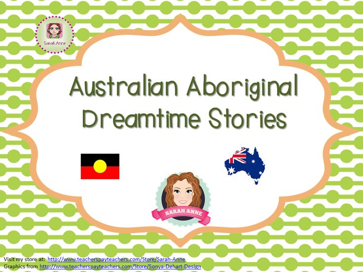 Australian Creation Story Dreamtime Kids
